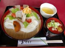 檜原神社のお茶屋で